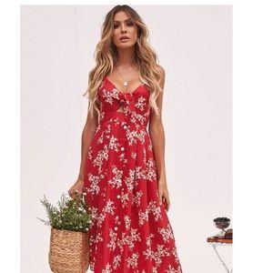 3 for $25 Cotton Candy floral button up dress L